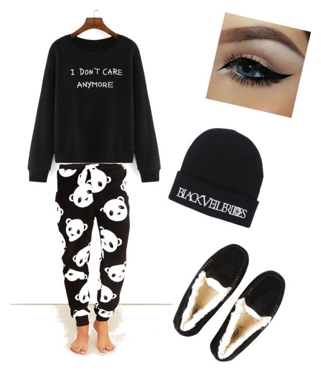 """Untitled #23"" by jeffthekiller13 ❤ liked on Polyvore featuring Wet Seal and UGG Australia"