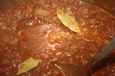 Homemade Stovetop No Bean Beef Chili - My Favorite!