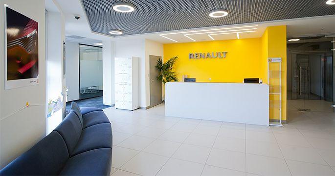 Яркий и функциональный: NAYADA оформила московский офис Renault