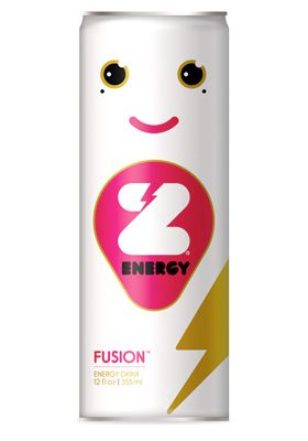 Energy drink package design from Face.Works. Do I drink it or hug it?