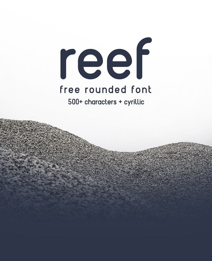 REEF font is free for commercial and personal use! It's strength lies in simplicity and construction!