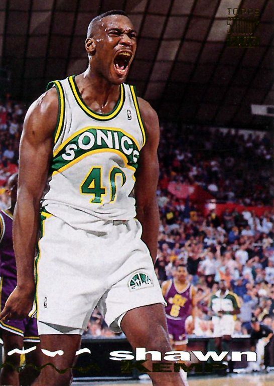 Shawn Kemp - I used to have this card.