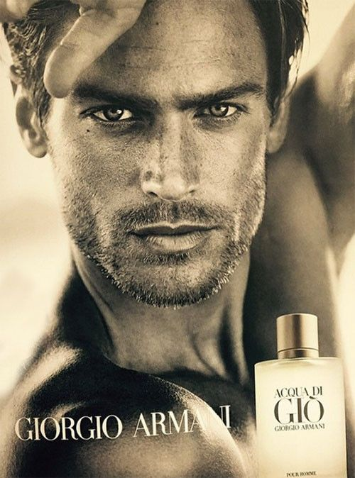 First Look: Giorgio Armani Acqua Di Gio Fragrance Campaign Featuring Jason Morgan