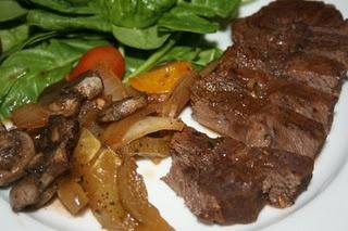 Crockpot frozen steak...yummie! Going in the crockpot now!!