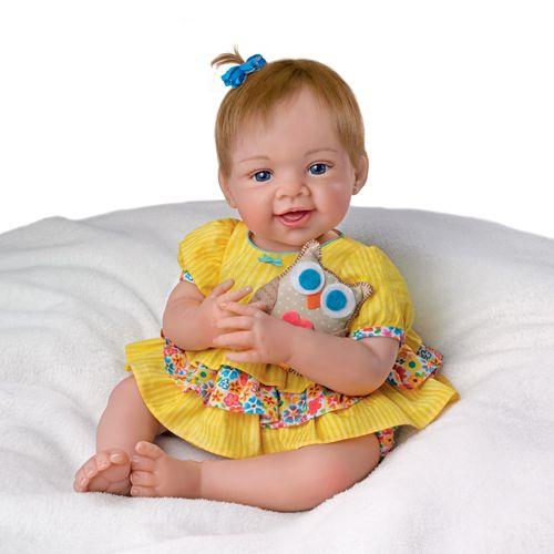 Силикон-виниловая кукла коллекционная - Всегда люблю тебя!