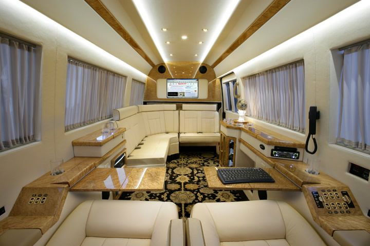 Sprinter van interiors becker automotive design 39 s for Mercedes benz sprinter conversion van for sale