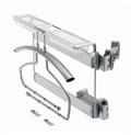 Side Pull Out Suit Holder With Rotating Hinge