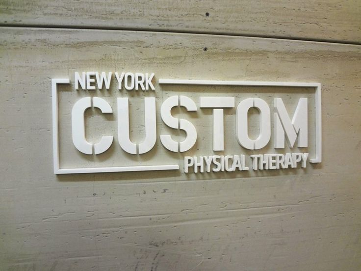 Custom Acrylic Sign NYC - Acrylic Office Sign NYC ...