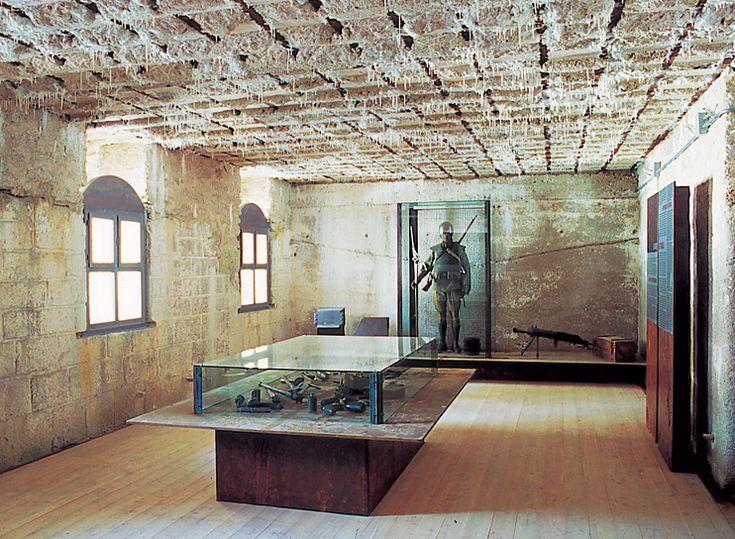 Arch. Francesco Collotti | Museo della grande guerra / Werk Gschwent, Lavarone |