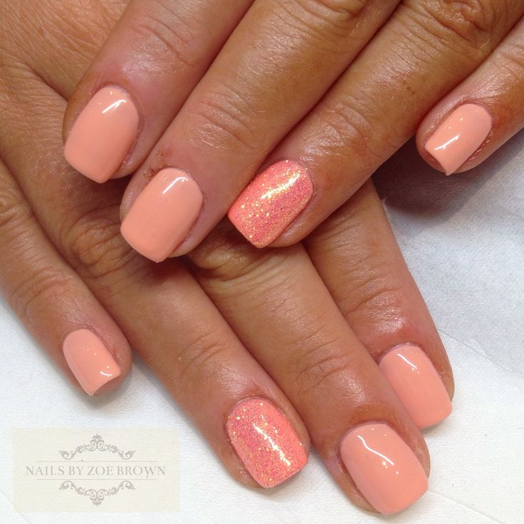 CND shellac salmon run | Nails | Pinterest | Shellac, Cnd ...