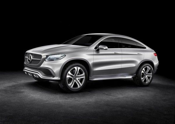 2014 Mercedes Benz Coupe SUV Side Exterior 600x426 2014 Mercedes Benz Coupe SUV Review and Design
