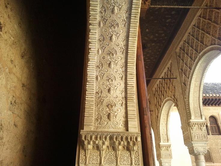 La mezcla de culturas en la Alhambra de Granada