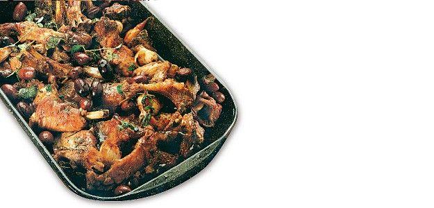 agnello olive peperoni