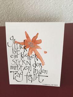 Schön Schrift Karten Mehr