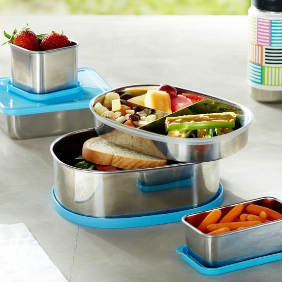 Stainless Steel Lunch Containers | PBteen