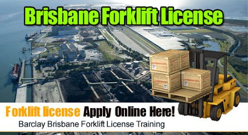 how to get a forklift driving licence