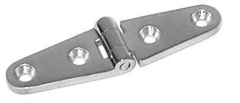 """Strap Hinge, 4"""" x 1"""", Cast Stainless Steel"""