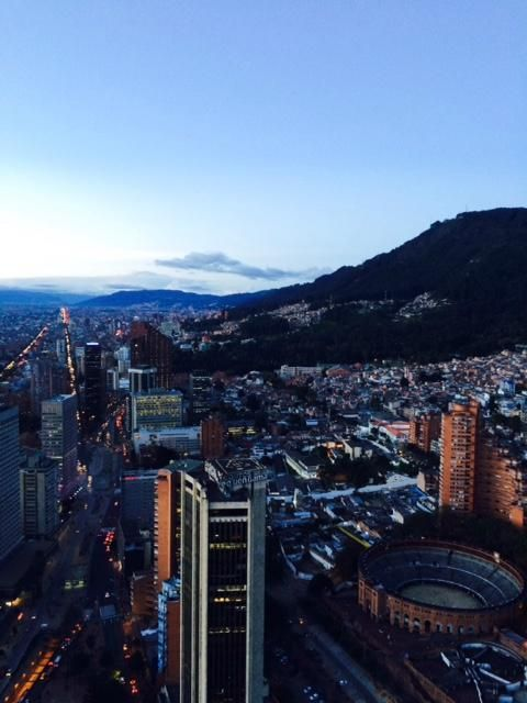Torre Colpatria (Bogota, Colombia) Climb to the top for about $2 for views of the city