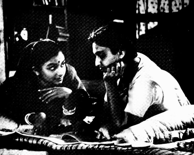Sharmila Tagore and Soumitra Chatterjee