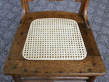 Repair Rattan Chair Seat Time Out Sayings Free Online Instructions For Seats With Cane Webbing Seating Back Chairs