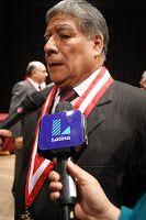 Certeza: RECTOR DE UNIVERSIDAD NACIONAL MAYOR DE SAN MARCOS...