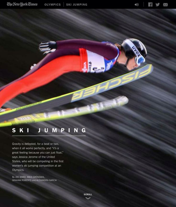 Ski Jumping - what's it all about? Check out this video to see how you soar! Sochi 2014.