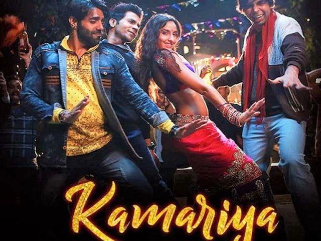 Kamariya Song Lyrics Hindi Stree Nora Fatehi Rajkummar Rao In 2020