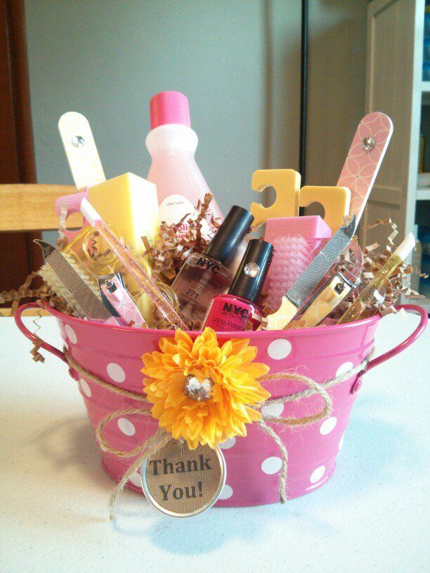 59 best gift idea images on pinterest creative gifts gift ideas a homemade spa basket of thanks or love great for a biglil or an advisor negle Choice Image