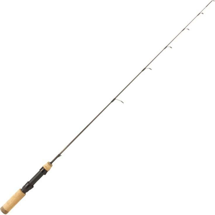 Clam Ice (White) Team Professional Ross Robertson Great Lakes Walleye Ice Fishing Rod