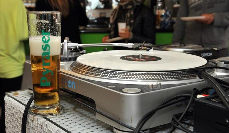 #Birra #Pyraser in consolle! ;) #Beer #Bier #GermanBeer #Music #Party #Enjoy #sangeminianoitalia