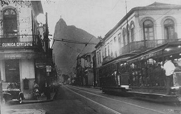 Rua São Clemente com Praia de Botafogo 1950.