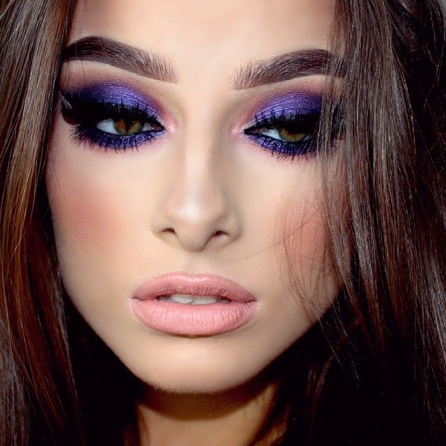 I love this purple look!