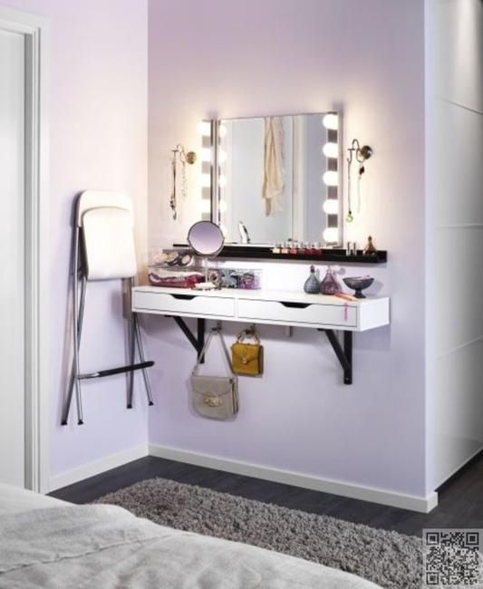 22 Small Dressing Area Ideas Bringing New Sensations Into Interior Design.  Small Bedroom FurnitureBedroom IdeasIkea ...