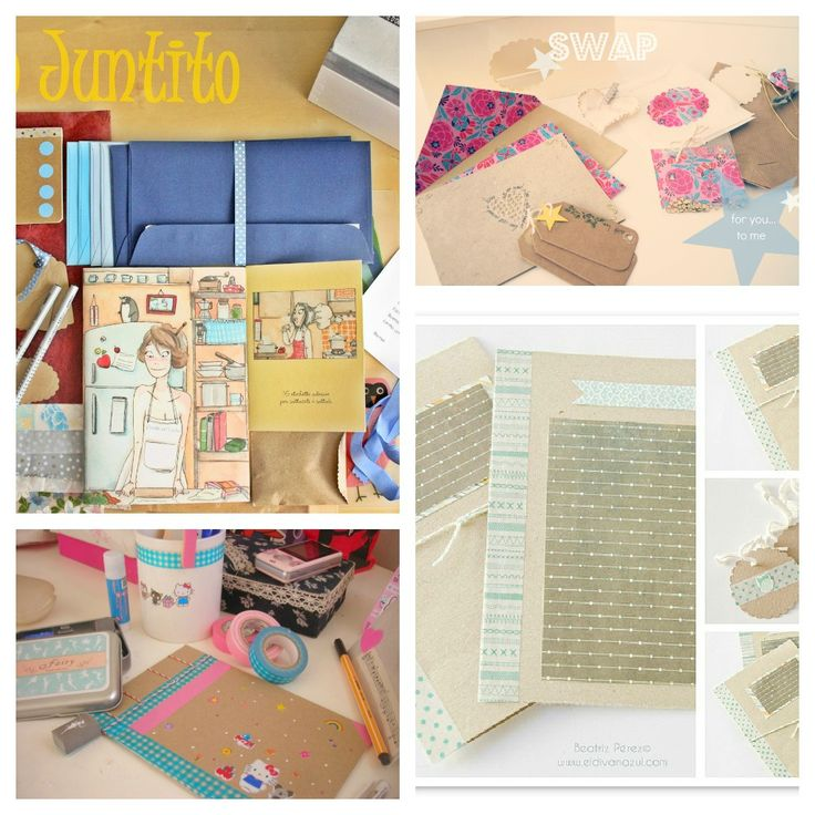 love this cute snail mail art, this blog is awesome!