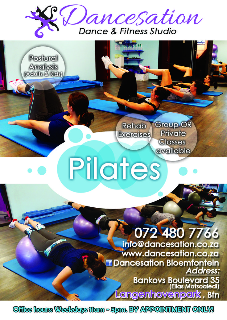 new 2014 Pilates flyer