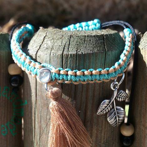 macramé bracelet caspar casparhandmade woman fashion woman bracelet