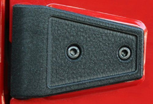Door Hinge Cover Kit for Jeep Wrangler JKThese Hinge Treatments are guaranteed not to rust while providing a new beefy look. Door and Hood Hinge covers feat