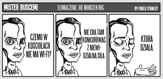 Wredne sucharki pana Buscemiego - Joe Monster