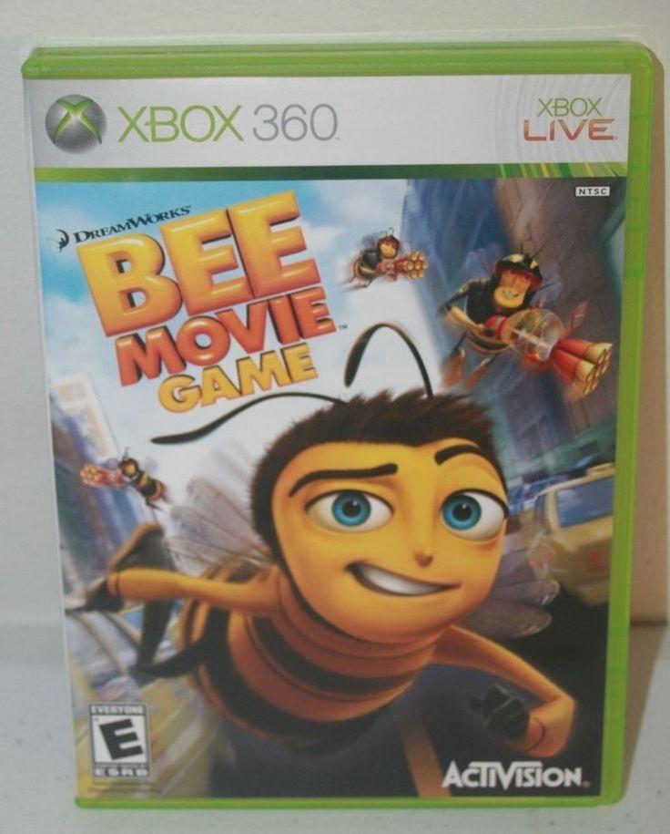 Bee Movie Game Microsoft Xbox 360 2007 Complete #xbox #beemoviegame