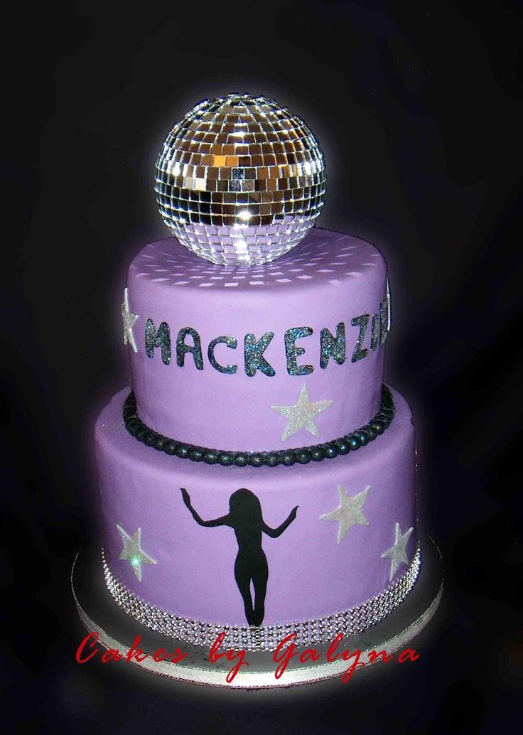 Disco Birthday Cake Pics