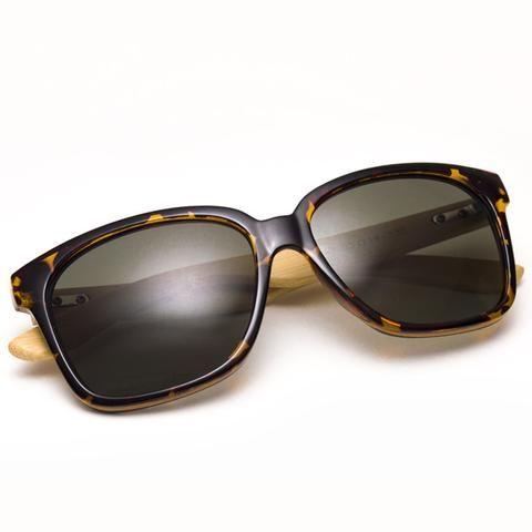 """Ξύλινα Γυαλιά Ηλίου Bamboo """"REVOLVERS""""   €49.90"""