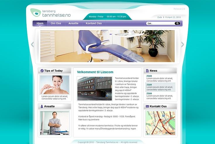 Tannhelse Website (Norway)