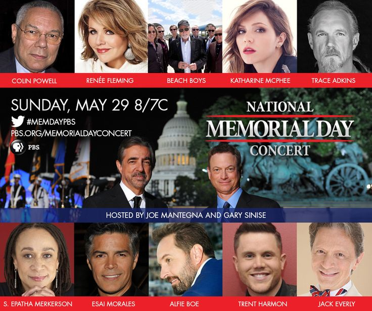 joe mantegna memorial day concert