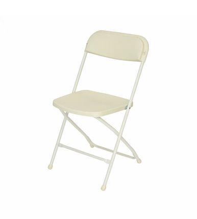 Titan Plastic Folding Chair Premium Rental Style 730lb Capacity