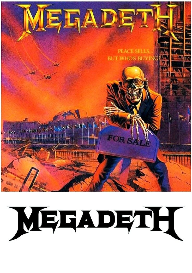 Megadeth Peace Sells Album Covers Metal Albums Megadeth