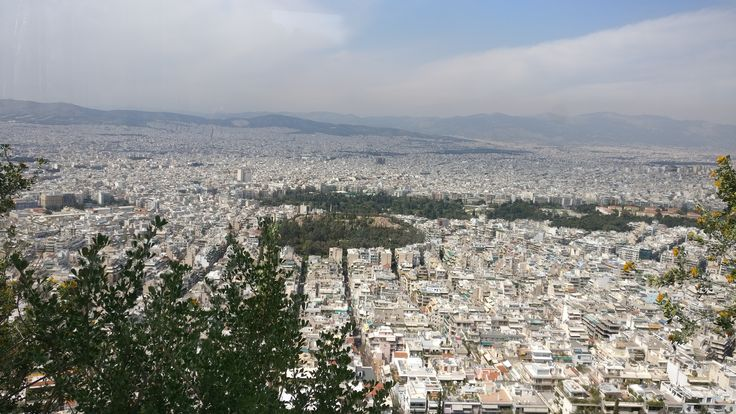 View of Athens from Lycabettus Hill