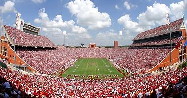 Oklahoma Memorial Stadium - nice place to spend an autumn afternoon/evening