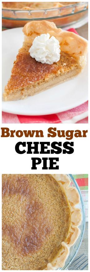 #ad #unleashthejoy #pie #chesspie Brown Sugar Chess Pie is similar to chess pie but with the sweet, rich flavor of brown sugar. @walmart