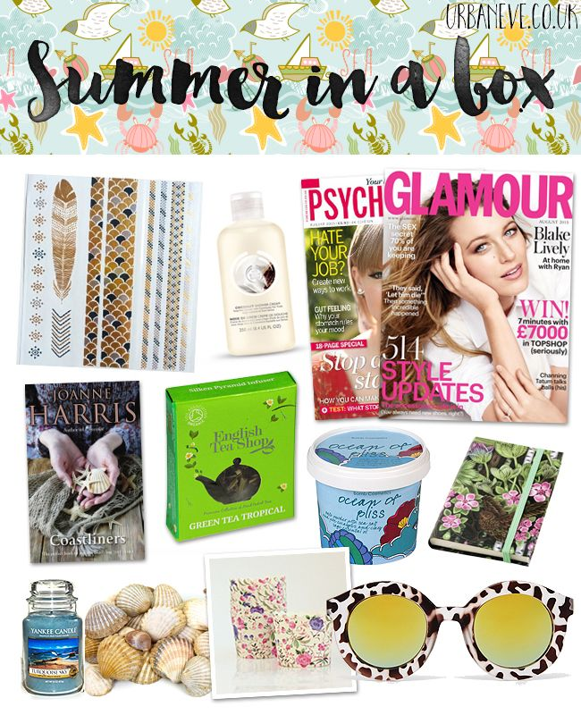 Gift idea for staycationers - Summer in a box.
