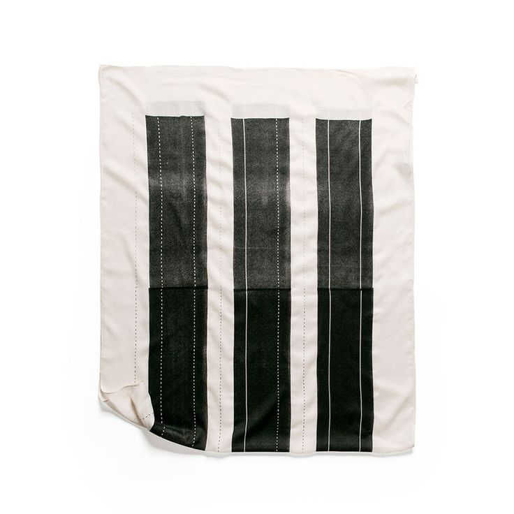 Berber Scarf in Black by Lee Coren